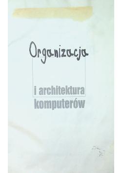 Organizacja i architektura komputerów