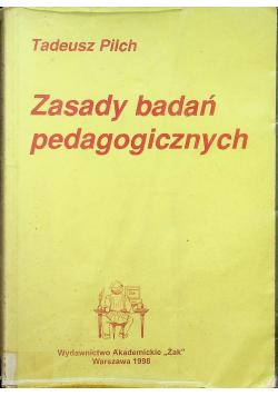 Zasady badań pedagogicznych