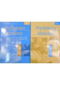Psychologia kliniczna 2 tomy