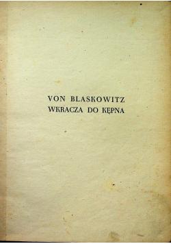 Von Blaskowitz wkracza do Kępna