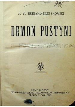 Demon pustyni / Prawo pustyni i wiele innych ok 1926 r
