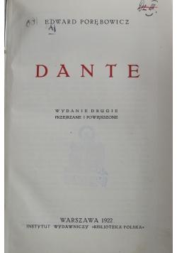 Dante 1922 r.