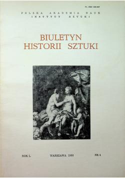 Biuletyn Historii Sztuki Nr 4