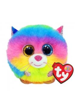 Ty Puffies Gizmo - tęczowy kot