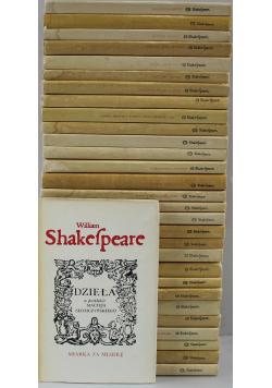 Shakespeare Dzieła 30 tomów