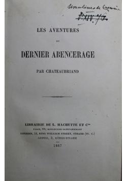 Les Aventures du Dernier Abencerage 1867 r.