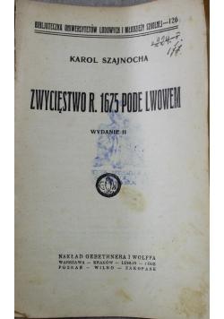Zwycięstwo r 1675 pode Lwowem 1925 r.