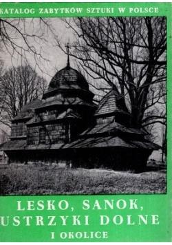 Lesko Sanok Ustrzyki Dolne i okolice