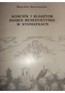 Kościół i klasztor panien Benedyktynek w Staniątkach