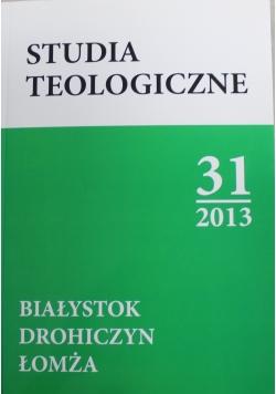 Studia teologiczne 31