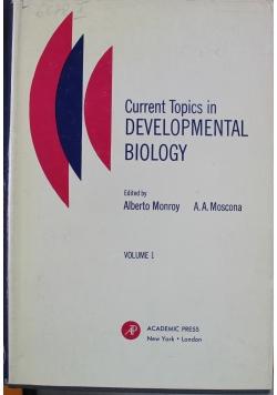 Current Topics in Developmental Biology Volume 1