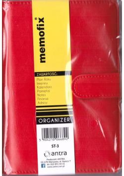 Organizer Memofix ST-3 czerwony