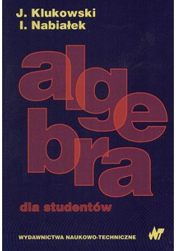 Algebra dla studentów