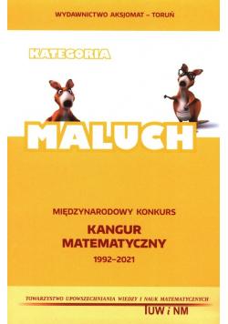 Międzynarodowy Konkurs Kangur Matematyczny 2021-1993 Maluch