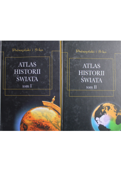 Atlas historii świata 2 Tomy