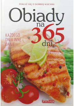 Obiady na 365 dni każdego dnia inne danie