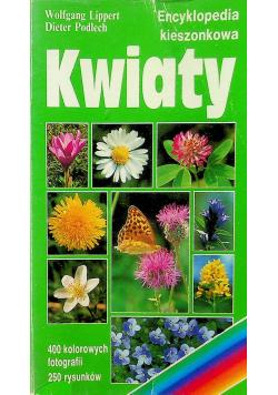 Kwiaty encyklopedia kieszonkowa