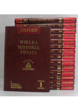 Wielka historia świata 15 tomów