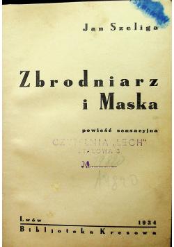 Zbrodnia i maska / Śmiertelny strzał amora około 1936r