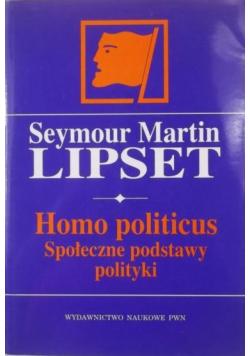 Homo politicus Społeczne podstawy polityki
