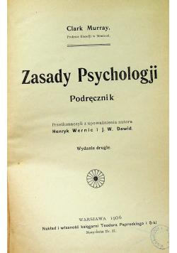 Zasady psychologji 1906 r