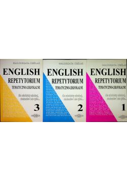 English Repetytorium tematyczno  leksykalne  część I do III