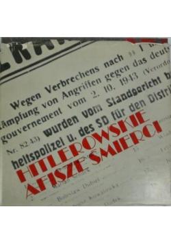 Hitlerowskie afisze śmierci