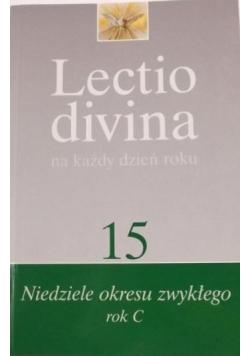 Lectio Divina na każdy dzień roku tom 15