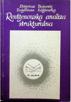 Re4ntgenowska analiza strukturalna