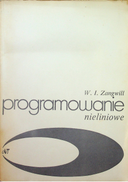 Programowanie nieliniowe