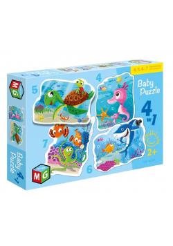 Baby Puzzle 4w1 Pod wodą