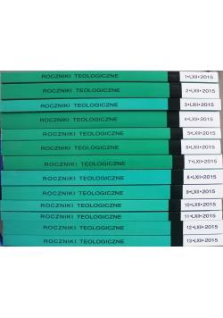 Roczniki teologiczne 13 tomów
