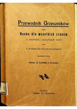 Przewodnik grzeszników 1913 r