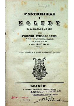 Pastorałki i kolędy z melodyjami 1843 r.