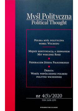 Myśl polityczna 4