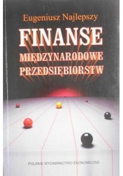 Finanse międzynarodowe przedsiębiorstw