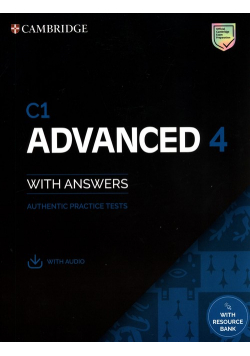 C1 Advanced 4 Students Book with Answers