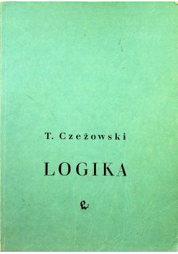 Logika podręcznik dla studiujących nauki filozoficzne