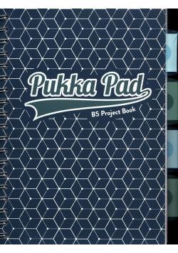 Pukka Pad Project Book Glee B5 niebieski w kratkę