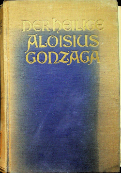Derheilige aloisius gonzaga 1927 r