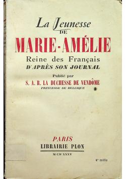 La Jeunesse De Marie Amelie 1935 r