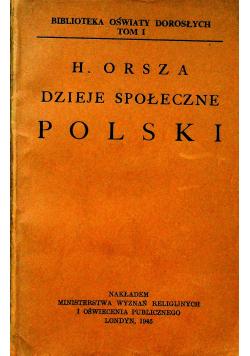 Dzieje społeczne Polski 1945r