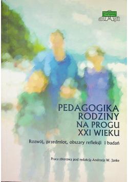 Pedagogika rodziny na progu XXI wieku