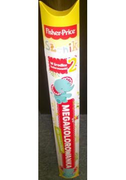 Megakolorowanka dla maluchów Fisher Price. Słonik