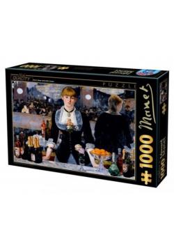 Puzzle 1000 Manet, Bar w Folies