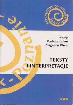 Teksty i interpretacje