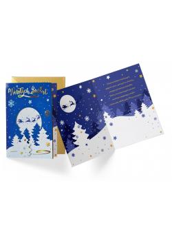 Karnet B6 DK-873 Boże Narodzenie