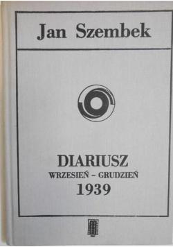 Diariusz Wrzesień  grudzień 1939