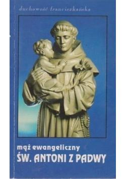 Mąż ewangeliczny Św. Antoni z Padwy