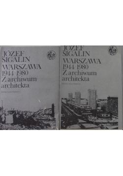 Warszawa 1944-1980. Z archiwum architekta 2 tomy
